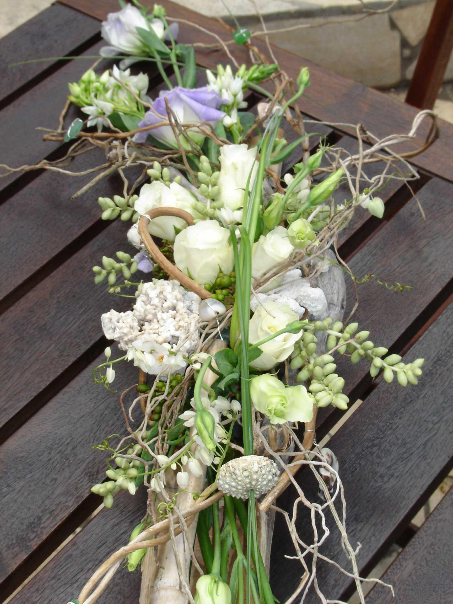 Tendance nature cours d art floral for Table 6 usmc
